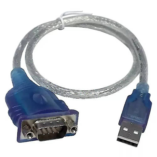 CABLE USB 2.0 A MACHO / RS232 1,8 MTS