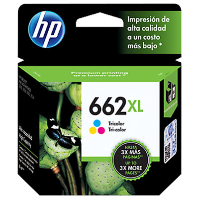 CARTUCHO HP 662XL ADVANTAGE (CZ106AL) TRICOLOR