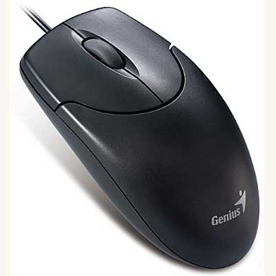 MOUSE OPTICO PS2  800 DPI GENIUS XSCROLL NEGRO