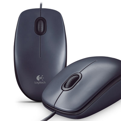 MOUSE OPTICO USB 1000 DPI LOGITECH M90 NEGRO
