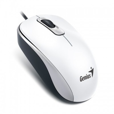MOUSE OPTICO USB 1000 DPI GENIUS DX-110 BLANCO