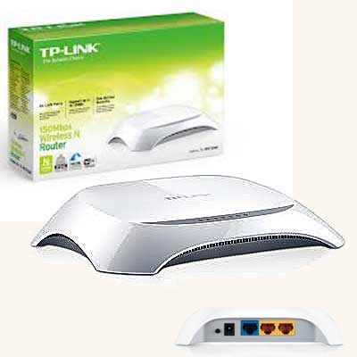 ROUTER WIFI N 150MBPS 3PTO ANT INTERNA TP-LINK TL-WR720N