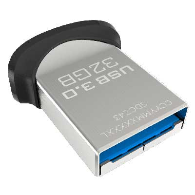 PENDRIVE 32GB USB 3.0 SANDISK ULTRA FIT