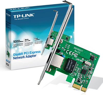 PLACA RED PCI-E GIGABIT 10/100/1000 TP-LINK TG-3468