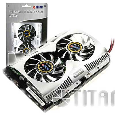 COOLER PARA DISCO RIGIDO 3,5 PULG DOBLE TITAN TTC-HD22