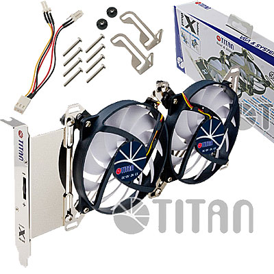 COOLER  DOBLE PLACA VIDEO TITAN TTC-SC07TZ(RB) RULEMAN