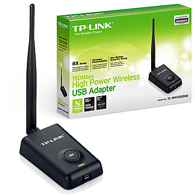 ADAPTADOR USB WIFI N 150MBPS TP-LINK TL-WN7200ND