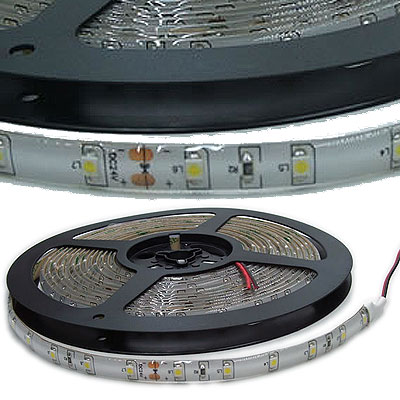 TIRA LUCES LED AMARILLO 12VCC ROLLO 5MTS EXTERIOR SMD-3528 HIGH QUALITY